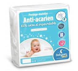 Protège matelas éponge anti-acarien
