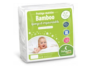 Protège matelas bébé éponge bamboo