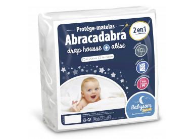 Protège matelas bébé 2 en 1 Abracadabra