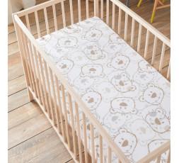Matelas bébé motif oursons 60 x 120