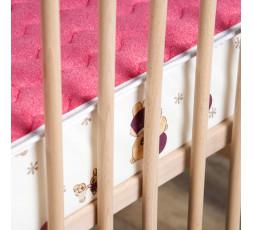 Matelas bébé oursons rose