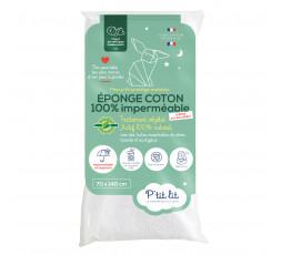 Protège matelas bébé éponge coton imperméable