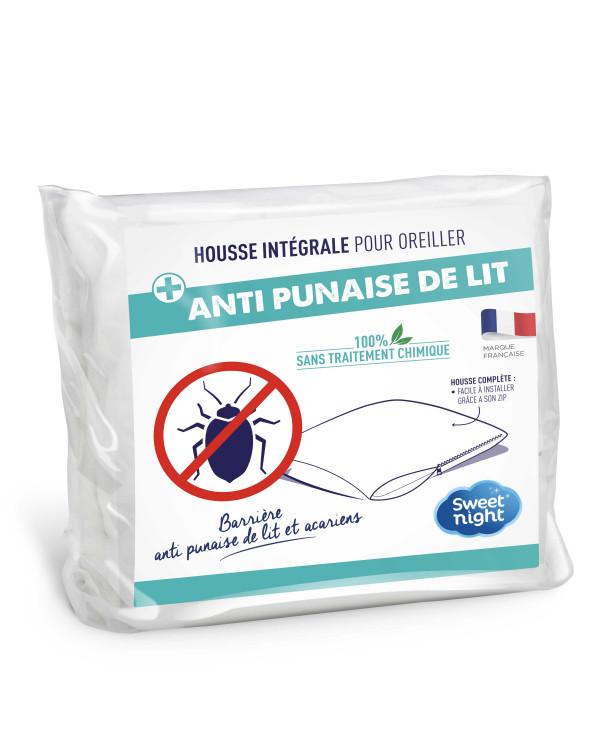 Protège oreiller anti-punaise de lit enfant